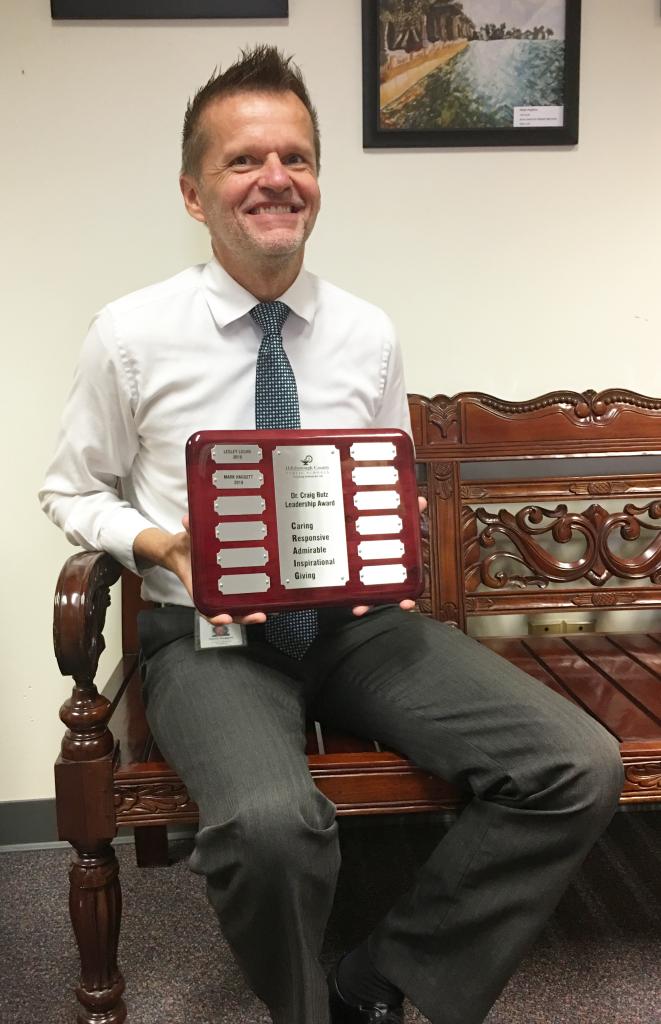 Mark Haggett Dr. Butz award 2019 3